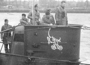 Snorting Bull insignia at the time of the ninth patrol